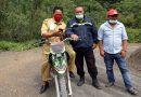 Bhabinkamtibmas Polsek Saluputti Sambang ke Wilayah Binaan