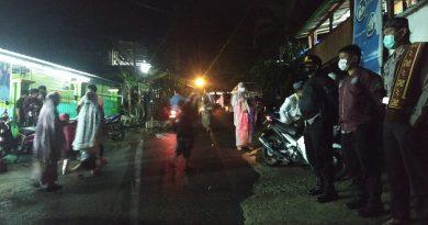Pam dan Monitoring Pelaksanaan Sholat Tarwih di Masjid Sanawi Nurul Hidayah Tondon Makale