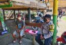 Bhabinkamtibmas Polsek Bonggakaradeng Sambang dan Tracing di Lembang Poton