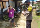 Bhabinkamtibmas Polsek Saluputti melaksanakan sambang di wilayah binaan