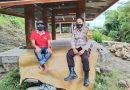 Bhabinkambtimas melaksanakan Tracer 3T di Lembang Kayuosing