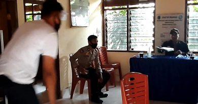 Bhabinkamtibmas Sambang Tracer Covid-19 di Wilayah Binaan Labani