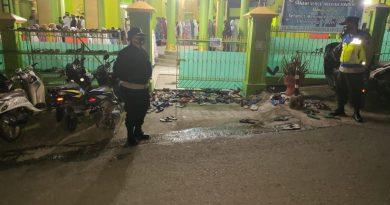 Pam Pelaksanaan Sholat Tarwih di Masjid Sanawi Nurul Hidayah Tondon Makale