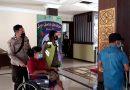 Masyarakat yang mendapatkan Batuan Pengobatan dari Kapolres Tana Toraja Mengontrol pasien ke RM Lakipadada.