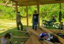 Bhabinkambtimas Polsek Saluputti Sambang dan Himbau Warga Patuhi Protokol Kesehatan