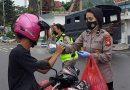 Berbagi Takjil personil Urkes Polres Tana Toraja