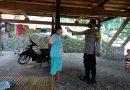 Bhabinkamtibmas Polsek Bonggakaradeng Tracer 3T dan himbauan protokol kesehatan