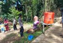 Bhabinkamtibmas polsek makale Himbau Protokol kesehatan pada adat rambu Tuka